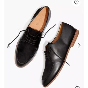 MADEWELL The Alex Oxford in Leather and Suede